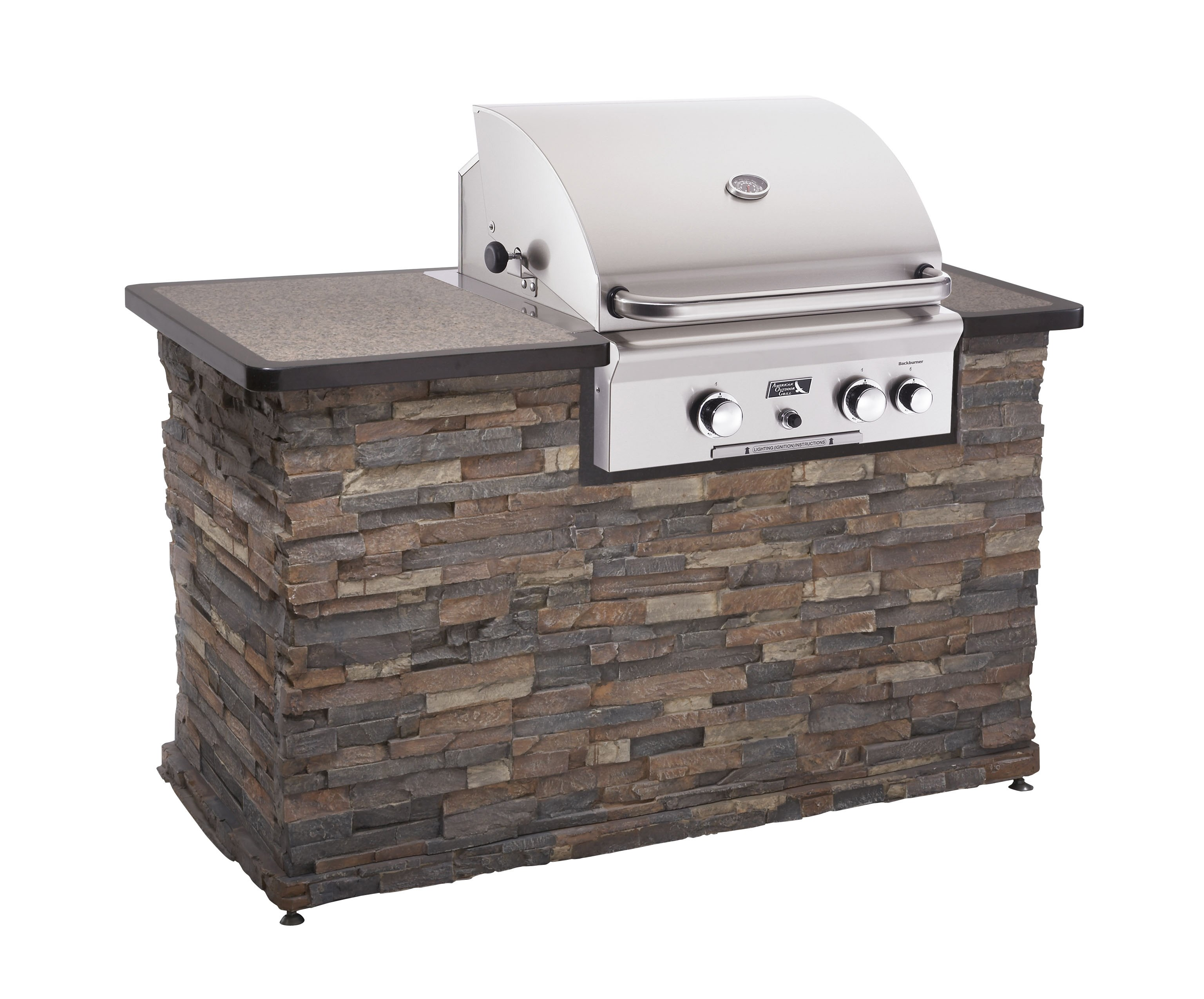 "American Outdoor Grill 24"" built in Coastroad line patio"