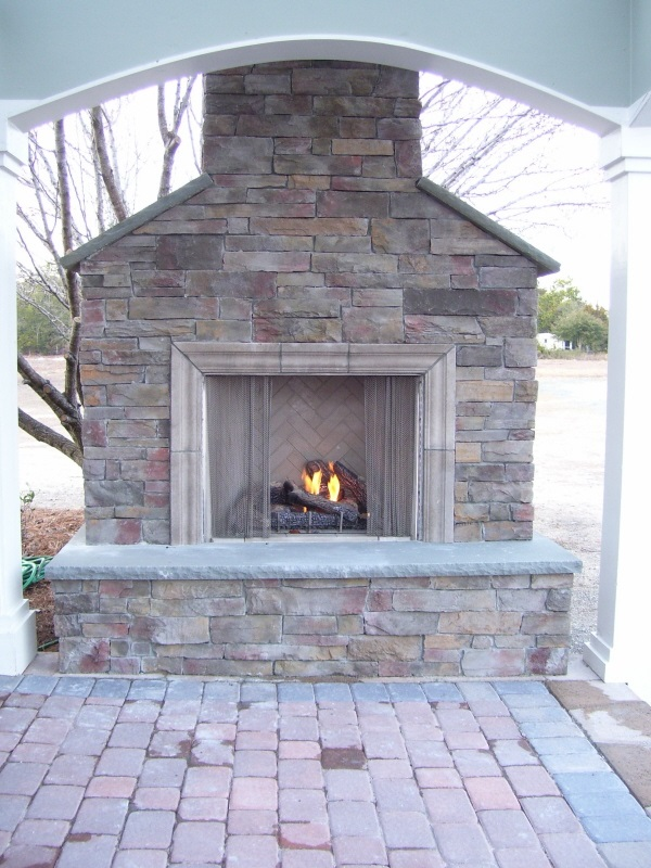 Coastroad Custom Stone Fireplace Coastroad Online Patio Products